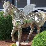 outer banks horse statues
