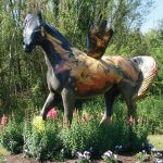 obx horse statues