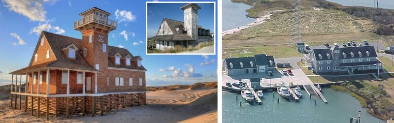 oregon inlet compared