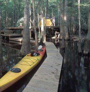 Camp Roanoke River Platforms