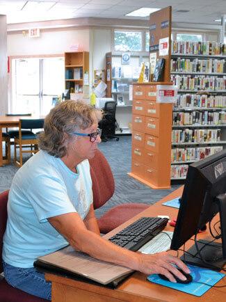 Dare County library