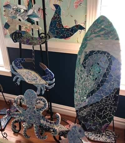 Pat Middleton mosaics