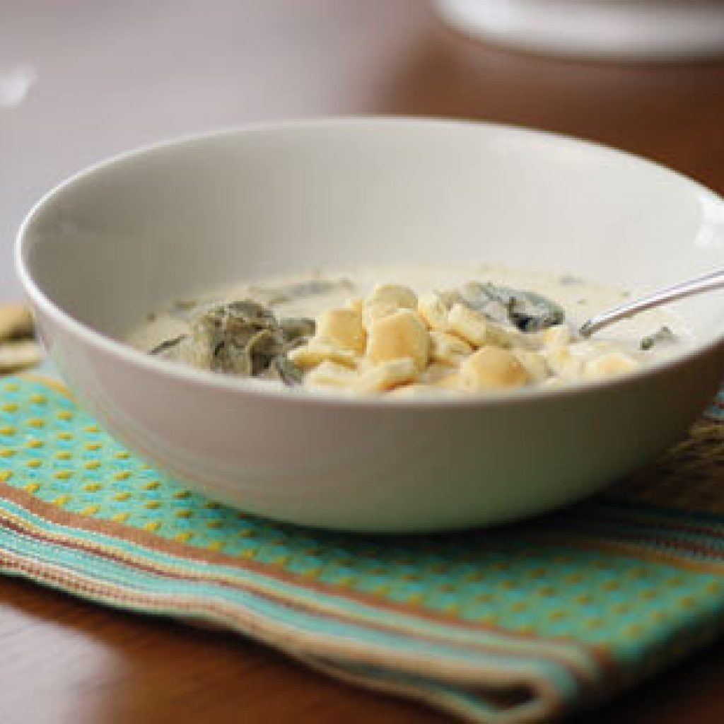 Outer Banks oyster stew
