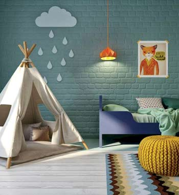 kid-friendly room design