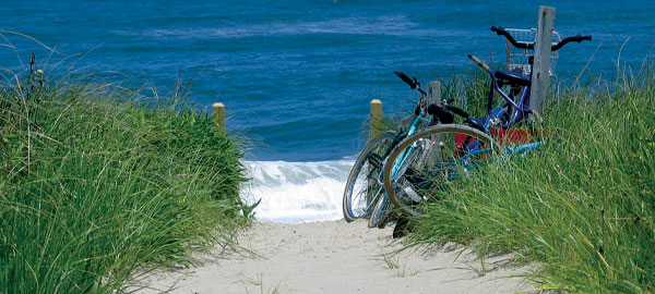 outer banks bike beach