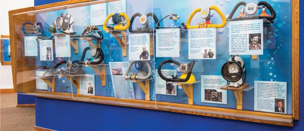 diving masks evolution