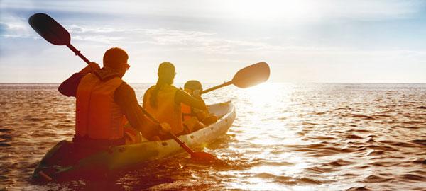 outer banks kayaking