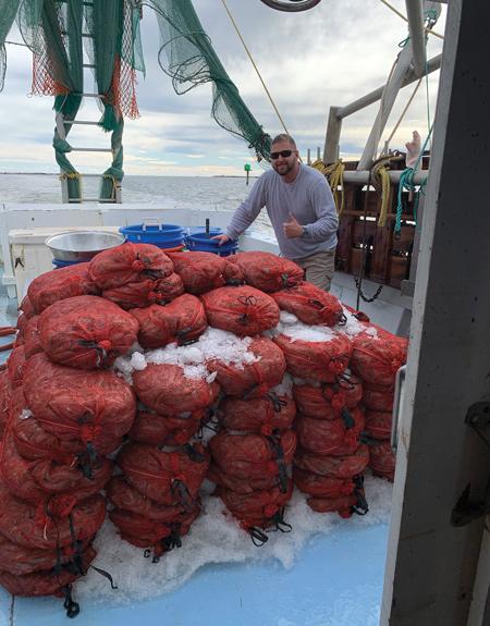 outer banks shrimping