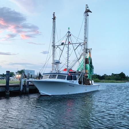 outer banks shrimping boat
